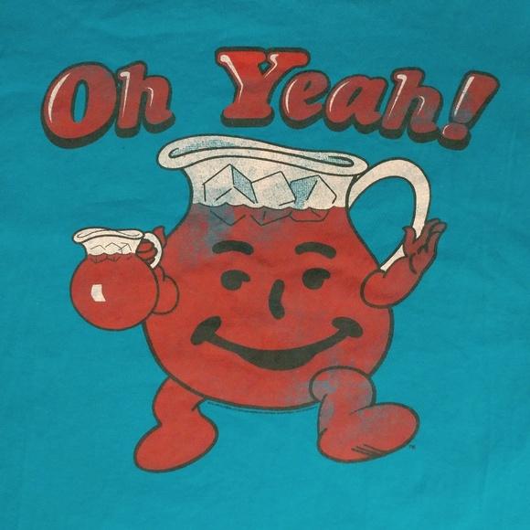 Shirts | Kool Aid Man Oh Yeah Tee | Poshmark